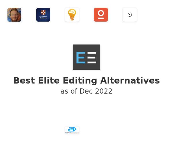 Best Elite Editing Alternatives