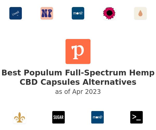 Best Populum Full-Spectrum Hemp CBD Capsules Alternatives