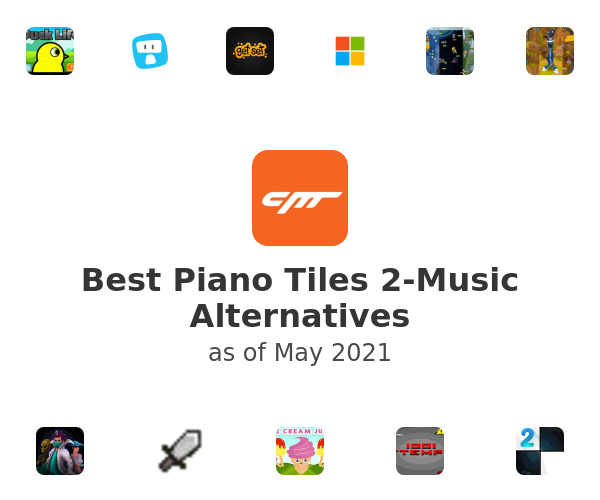 Best Piano Tiles 2-Music Alternatives