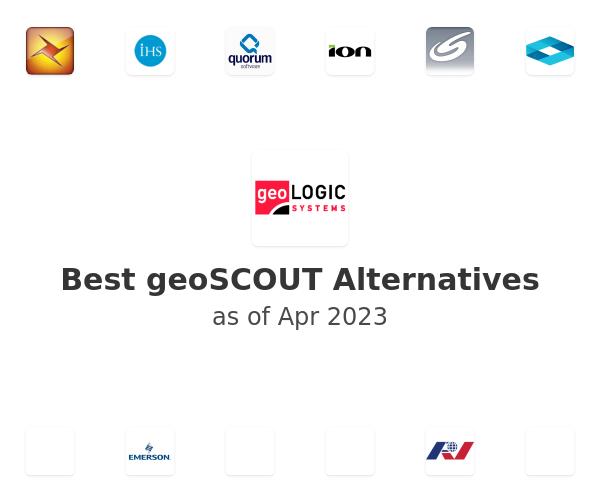 Best geoSCOUT Alternatives