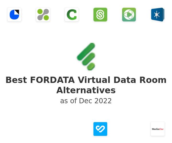 Best FORDATA Virtual Data Room Alternatives