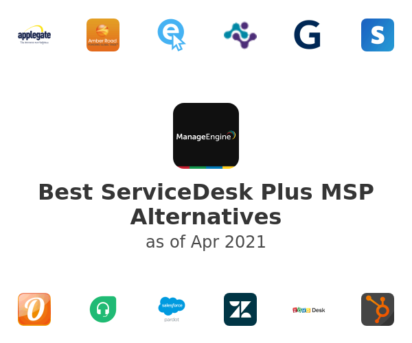 Best ServiceDesk Plus MSP Alternatives