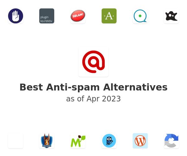 Best Anti-spam Alternatives