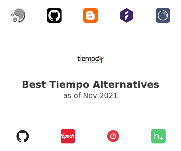 Best Tiempo Alternatives
