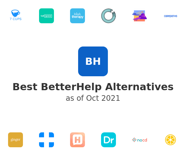 Best BetterHelp Alternatives