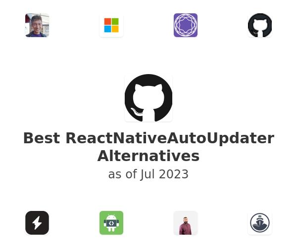 Best ReactNativeAutoUpdater Alternatives