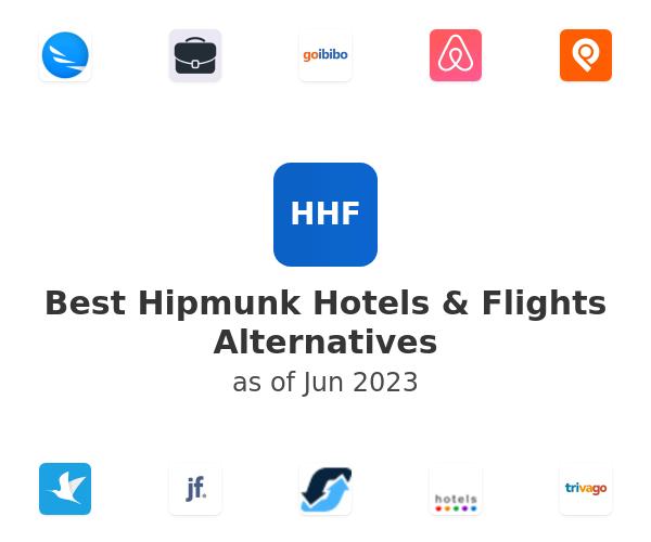 Best Hipmunk Hotels & Flights Alternatives