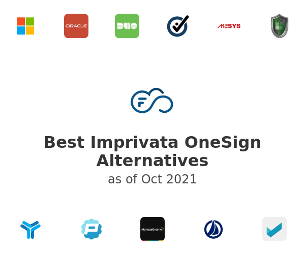Best Imprivata OneSign Alternatives