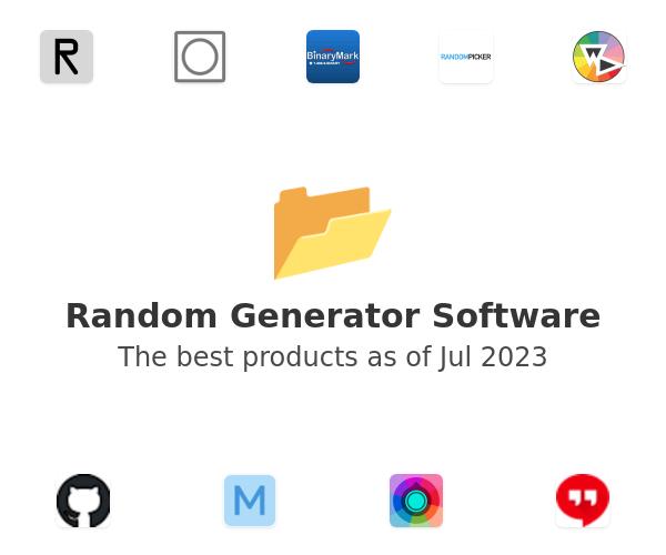 Random Generator Software