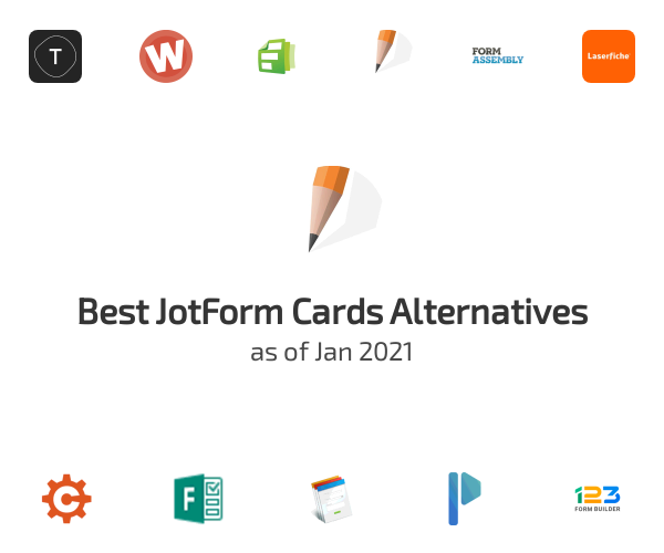 Best JotForm Cards Alternatives