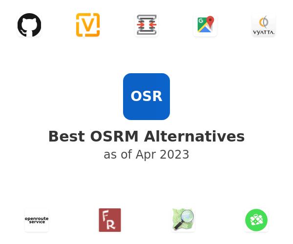Best OSRM Alternatives