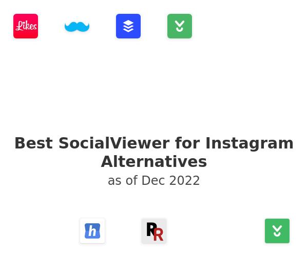 Best SocialViewer for Instagram Alternatives
