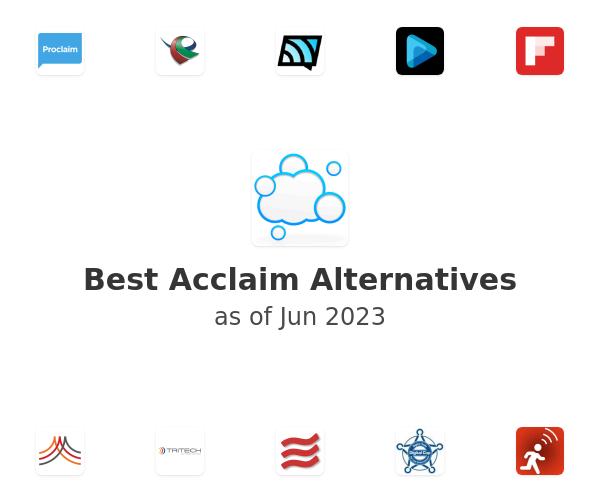 Best Acclaim Alternatives