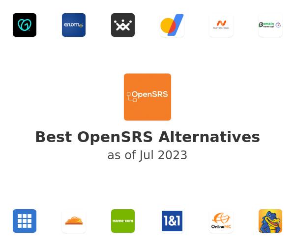 Best OpenSRS Alternatives