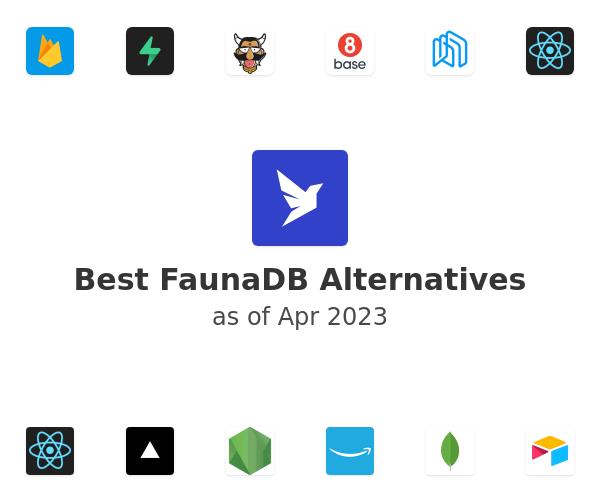 Best FaunaDB Alternatives