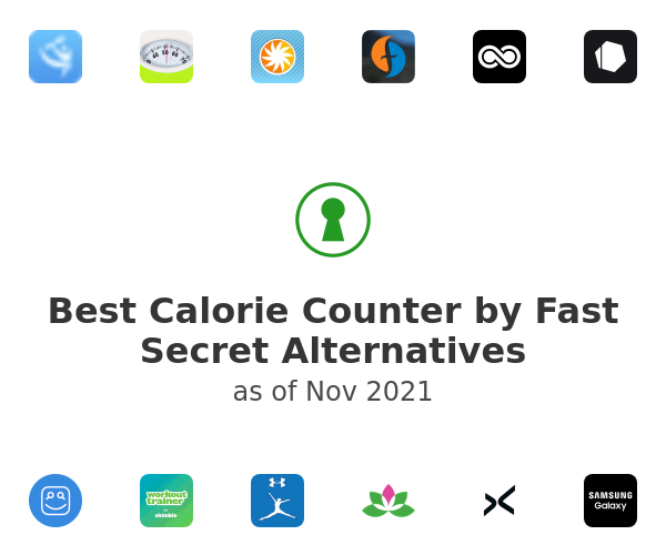 Best Calorie Counter by Fast Secret Alternatives