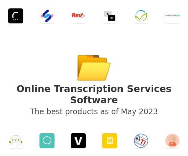 Online Transcription Services Software