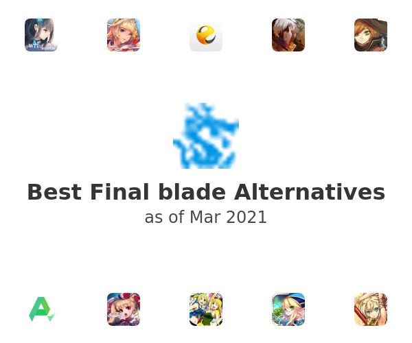 Best Final blade Alternatives