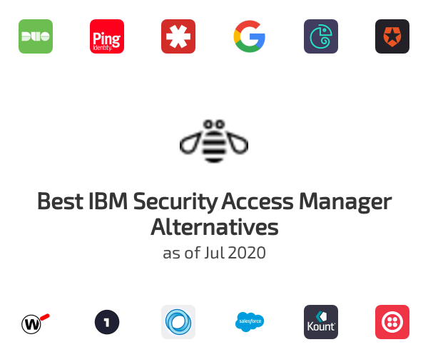 Best IBM Security Access Manager Alternatives