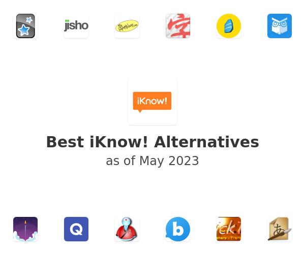 Best iKnow! Alternatives