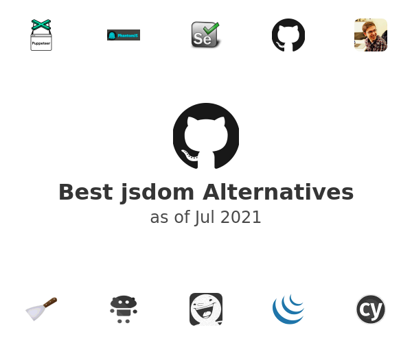 Best jsdom Alternatives