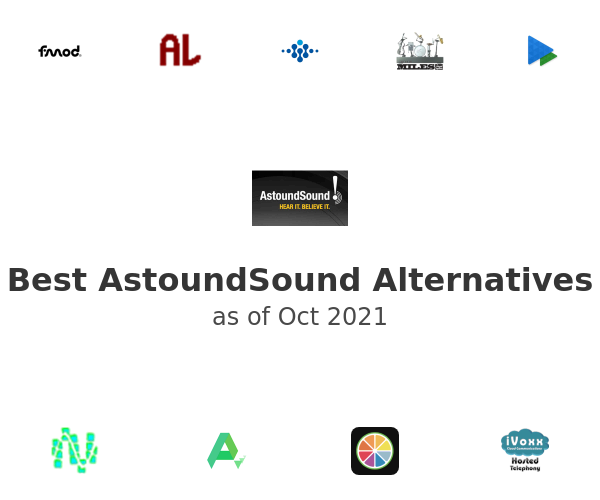 Best AstoundSound Alternatives