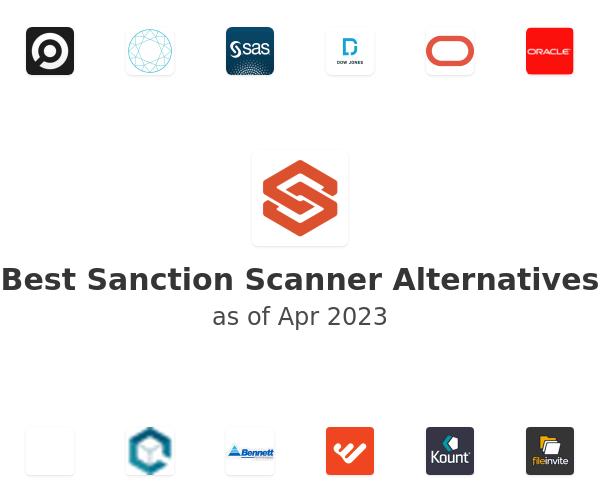 Best Sanction Scanner Alternatives
