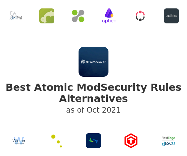 Best Atomic ModSecurity Rules Alternatives