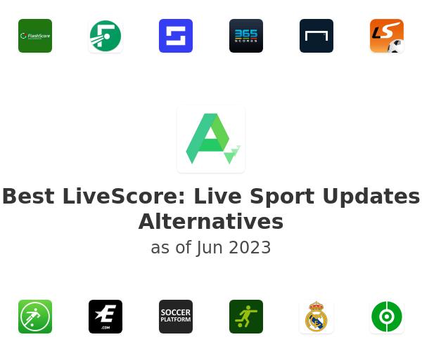 Best LiveScore: Live Sport Updates Alternatives