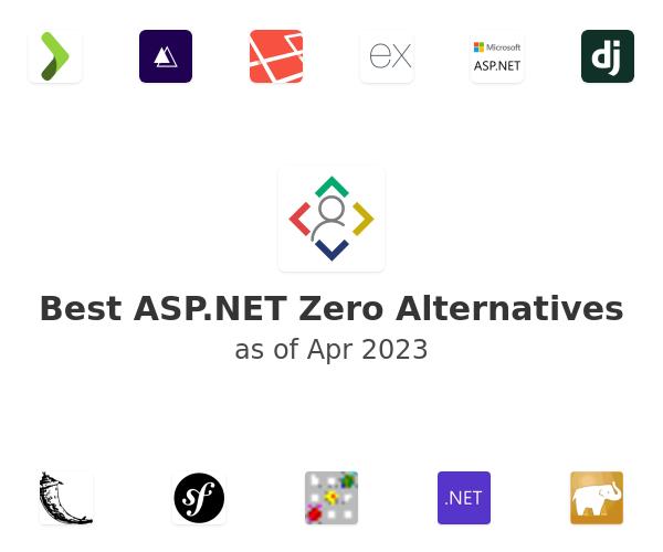 Best ASP.NET Zero Alternatives