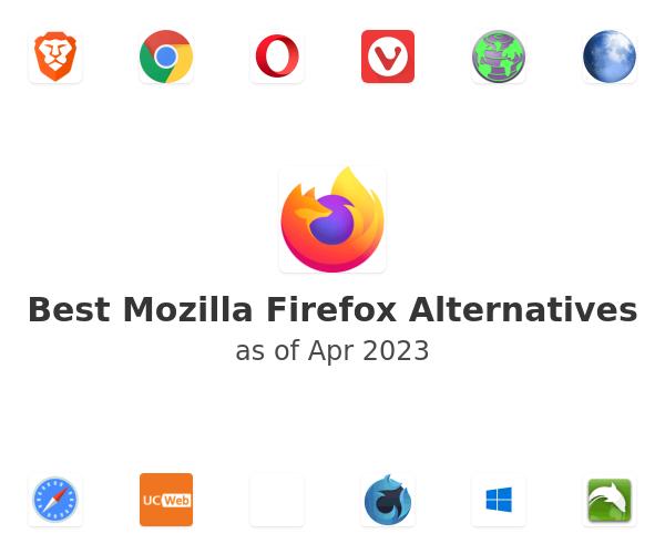Best Mozilla Firefox Alternatives