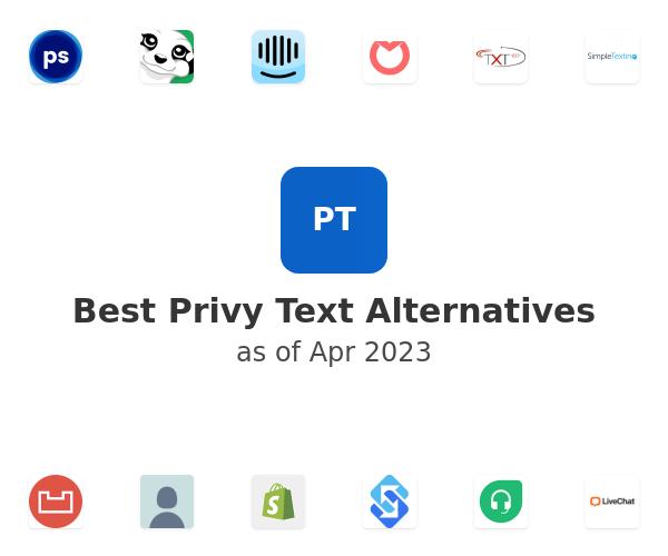 Best Privy Text Alternatives