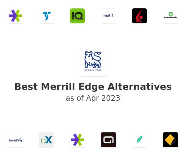 Best Merrill Edge Alternatives