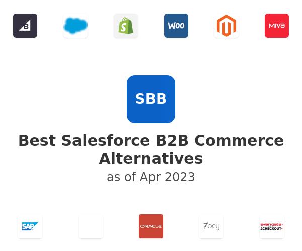 Best Salesforce B2B Commerce Alternatives