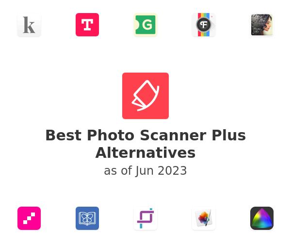Best Photo Scanner Plus Alternatives