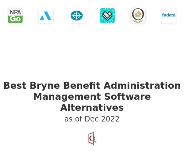 Best Bryne Benefit Administration Management Software Alternatives