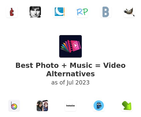 Best Photo + Music = Video Alternatives