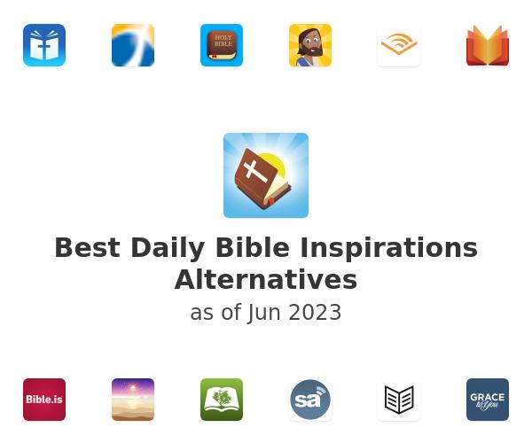 Best Daily Bible Inspirations Alternatives
