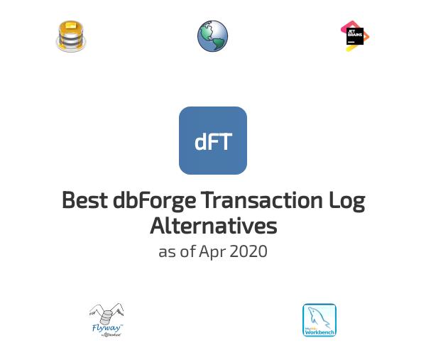 Best dbForge Transaction Log Alternatives