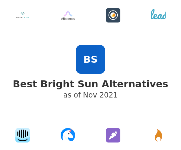 Best Bright Sun Alternatives