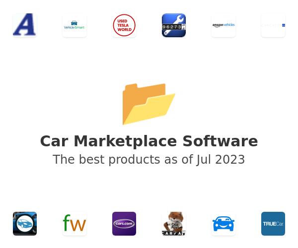 Car Marketplace Software