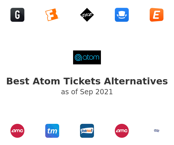 Best Atom Tickets Alternatives