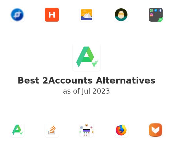 Best 2Accounts Alternatives