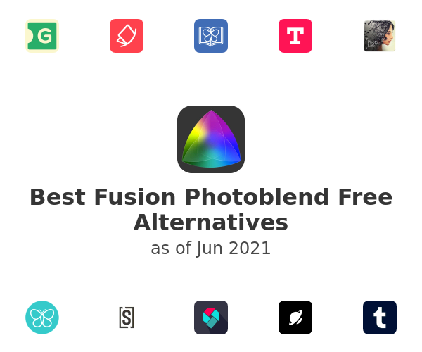 Best Fusion Photoblend Free Alternatives