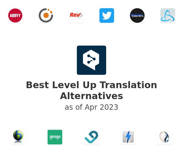 Best Level Up Translation Alternatives