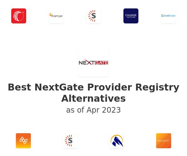 Best NextGate Provider Registry Alternatives