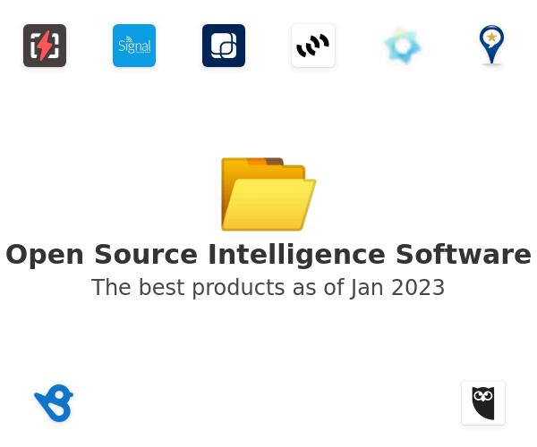 Open Source Intelligence Software