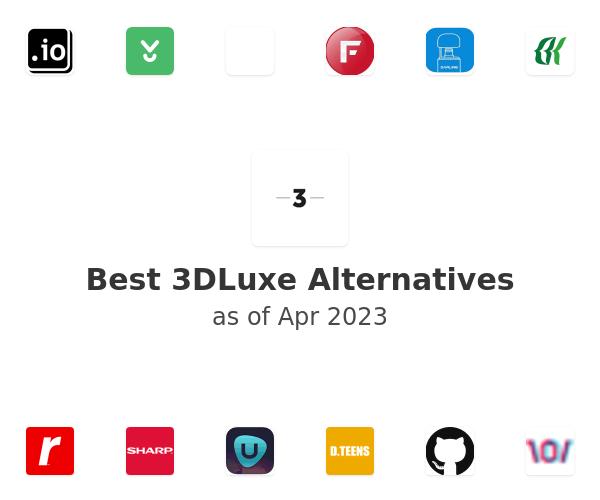 Best 3DLuxe Alternatives