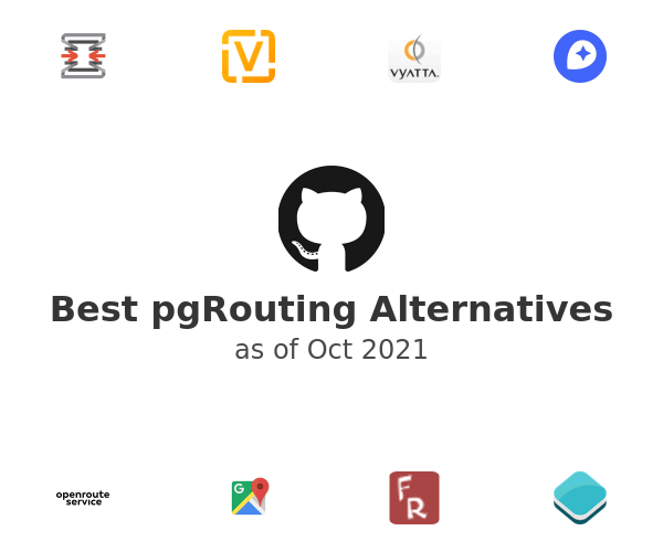 Best pgRouting Alternatives