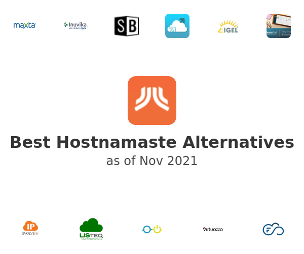 Best Hostnamaste Alternatives